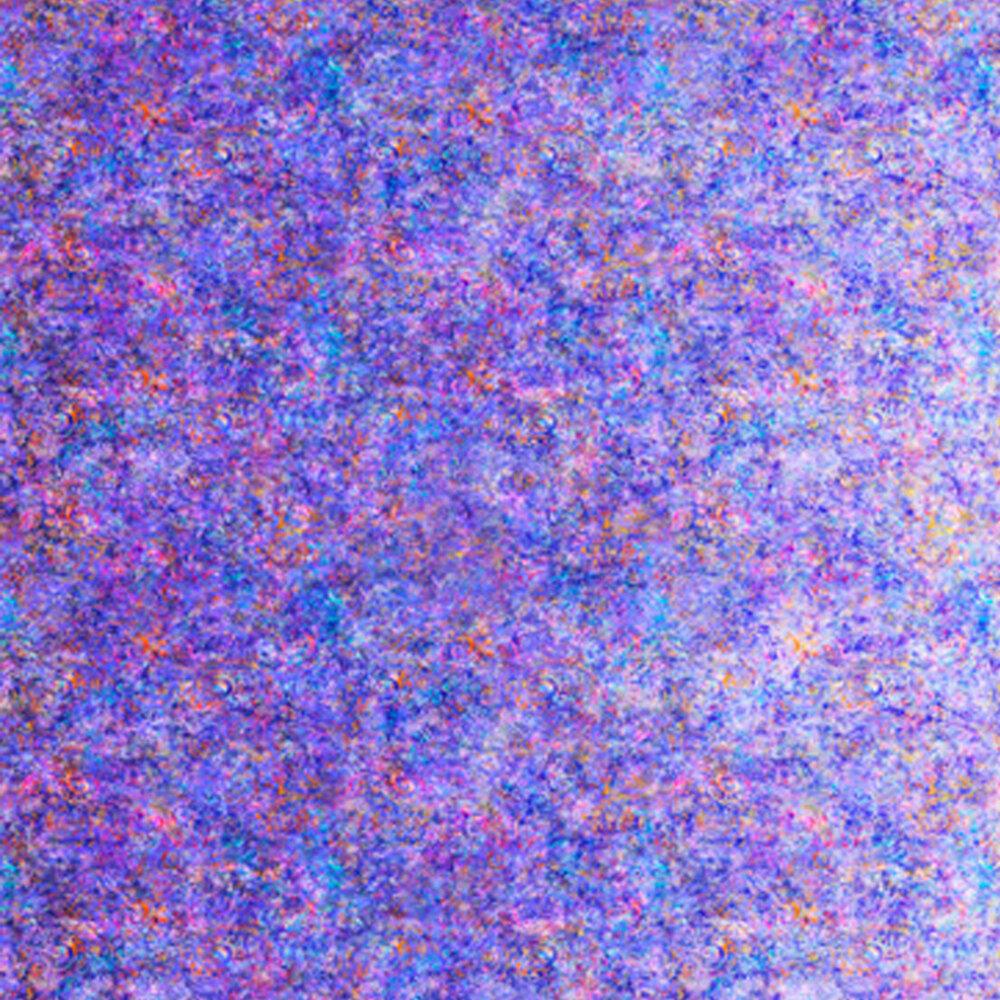 Hyacinth purple fabric with scroll medallion designs | Shabby Fabrics