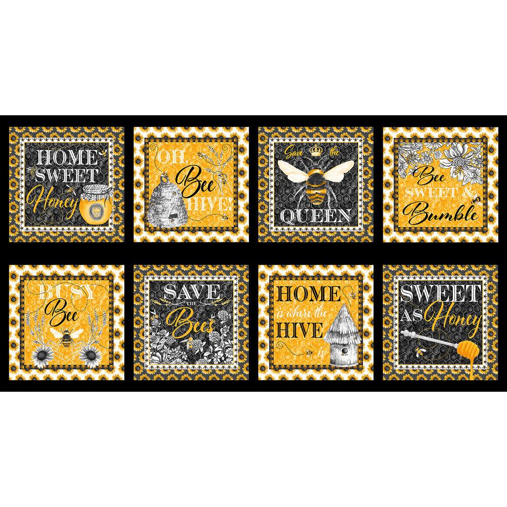 Show Me The Honey quilt panel | Shabby Fabrics