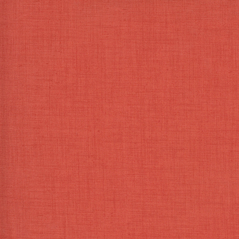 Solid red textured fabric | Shabby Fabrics