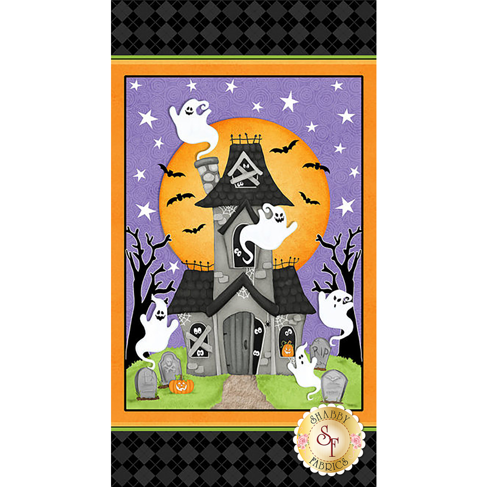 Ghostly Glow Town 1682PG-93 by Henry Glass