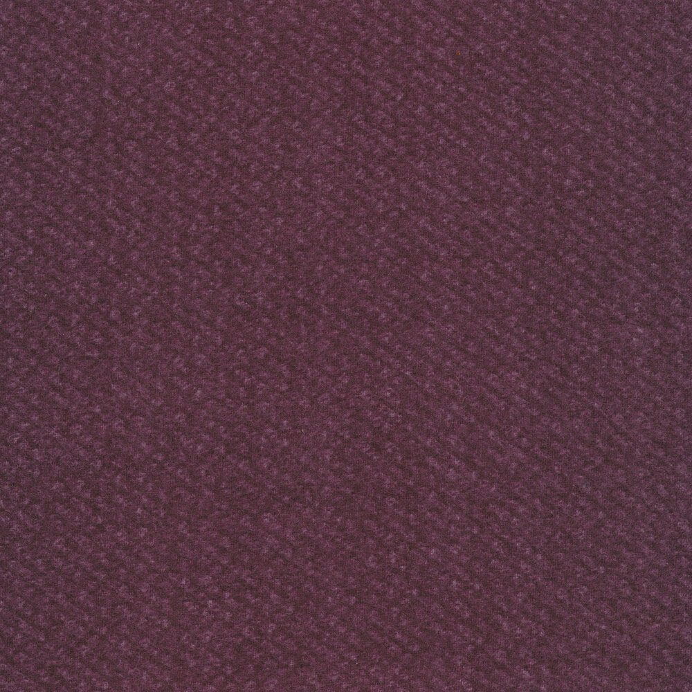 Tonal purple flannel | Shabby Fabrics