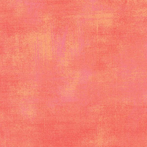 Peach grunge textured fabric | Shabby Fabrics