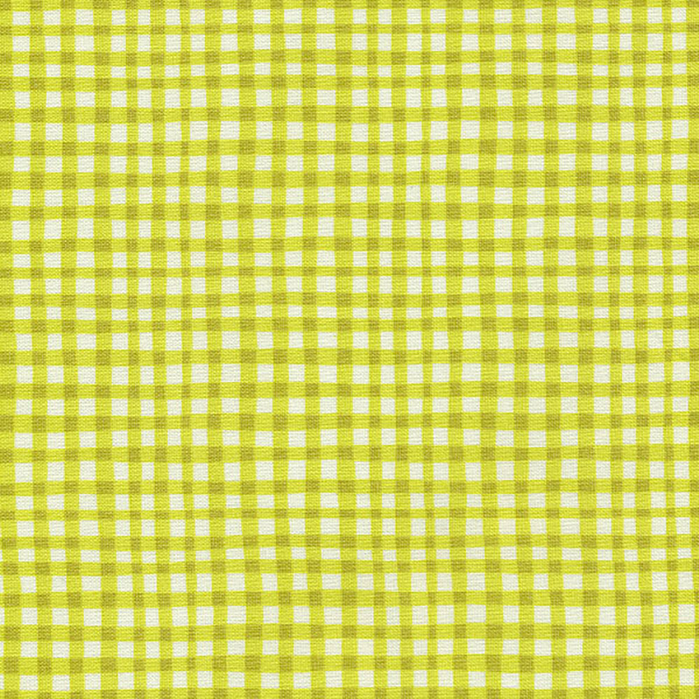 Gingham Play CX7161-KIWI-D by Michael Miller Fabrics