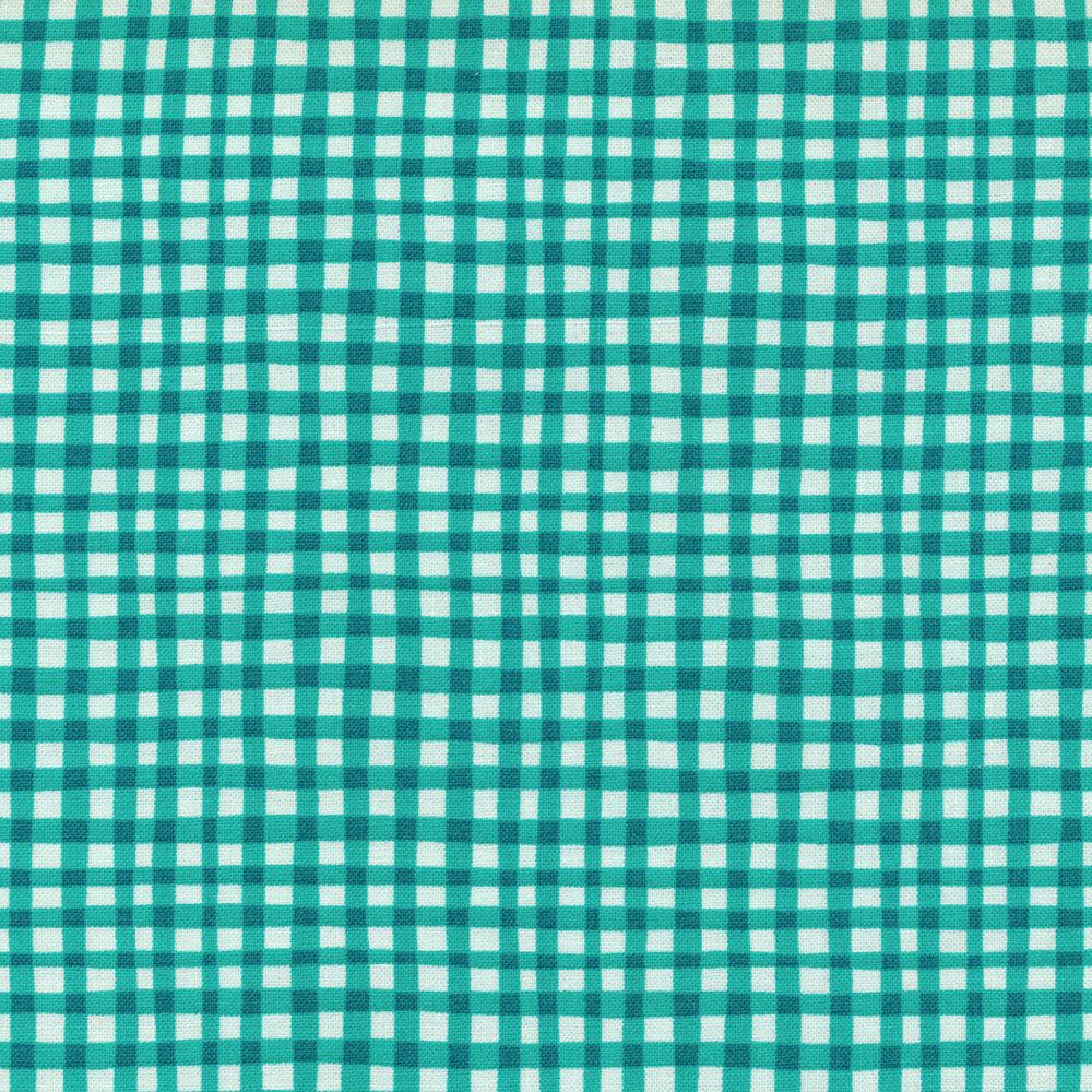 Gingham Play CX7161-MARI-D by Michael Miller Fabrics