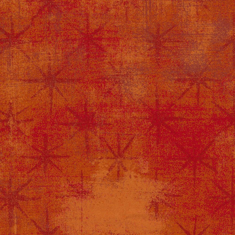Grunge Seeing Stars 30148-25 Pumpkin by BasicGrey for Moda Fabrics