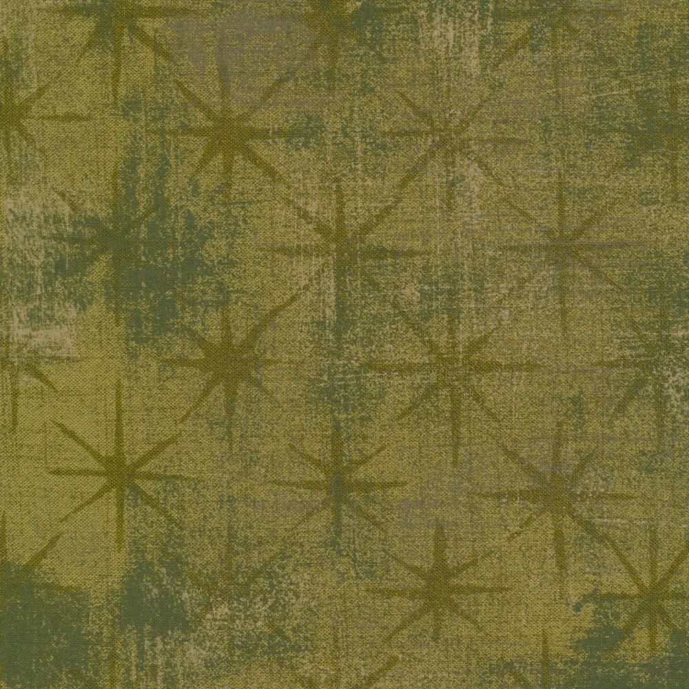 Grunge Seeing Stars 30148-51 Vert by BasicGrey for Moda Fabrics