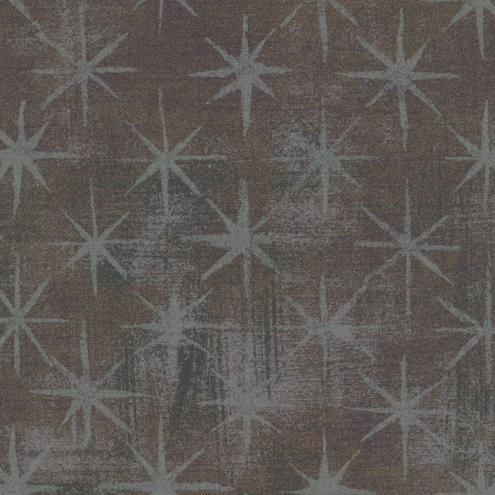 Grunge Seeing Stars 30148-58 Gris Fonce by BasicGrey for Moda Fabrics