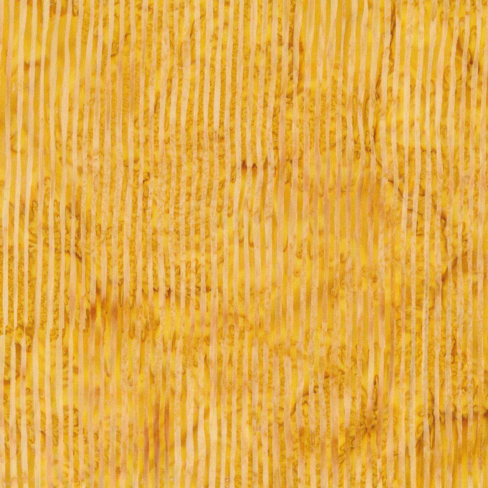 Striped yellow batik