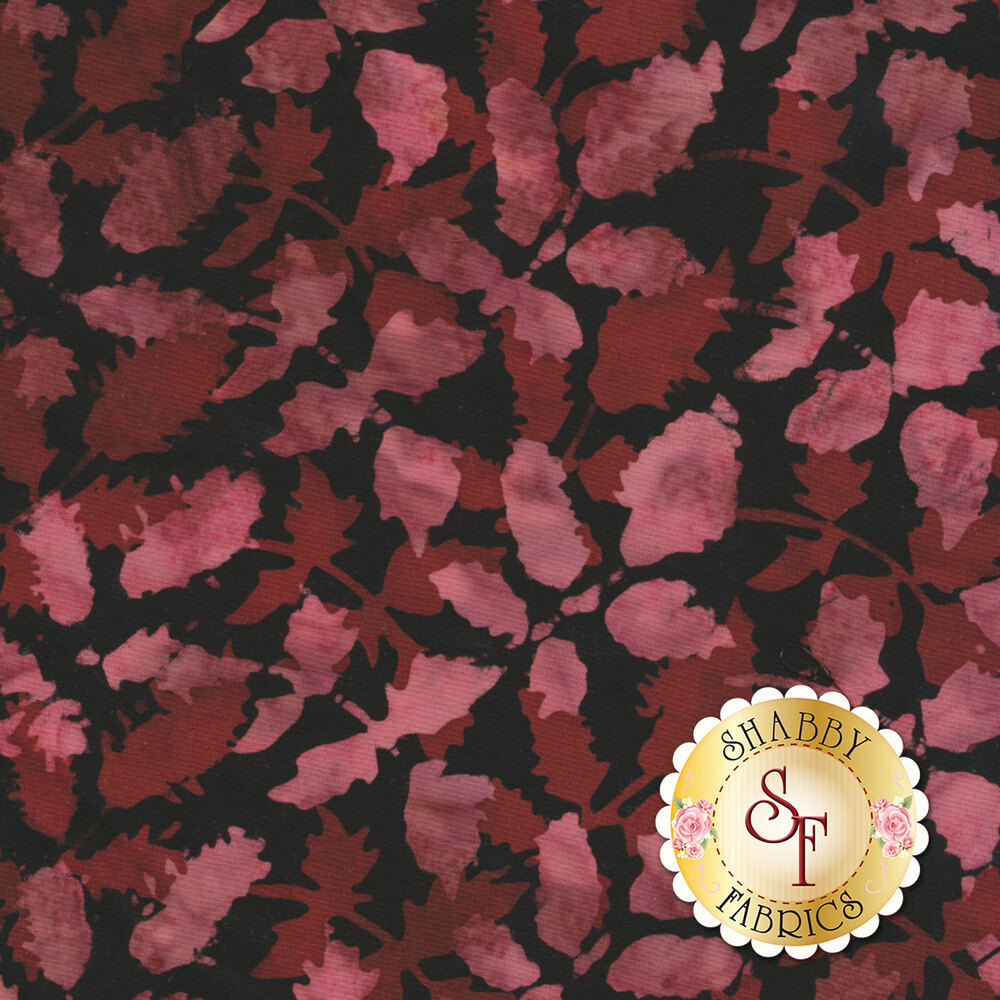 Floragraphix Batiks 4 2-GBD-1 Wine by In The Beginning Fabrics available at Shabby Fabrics