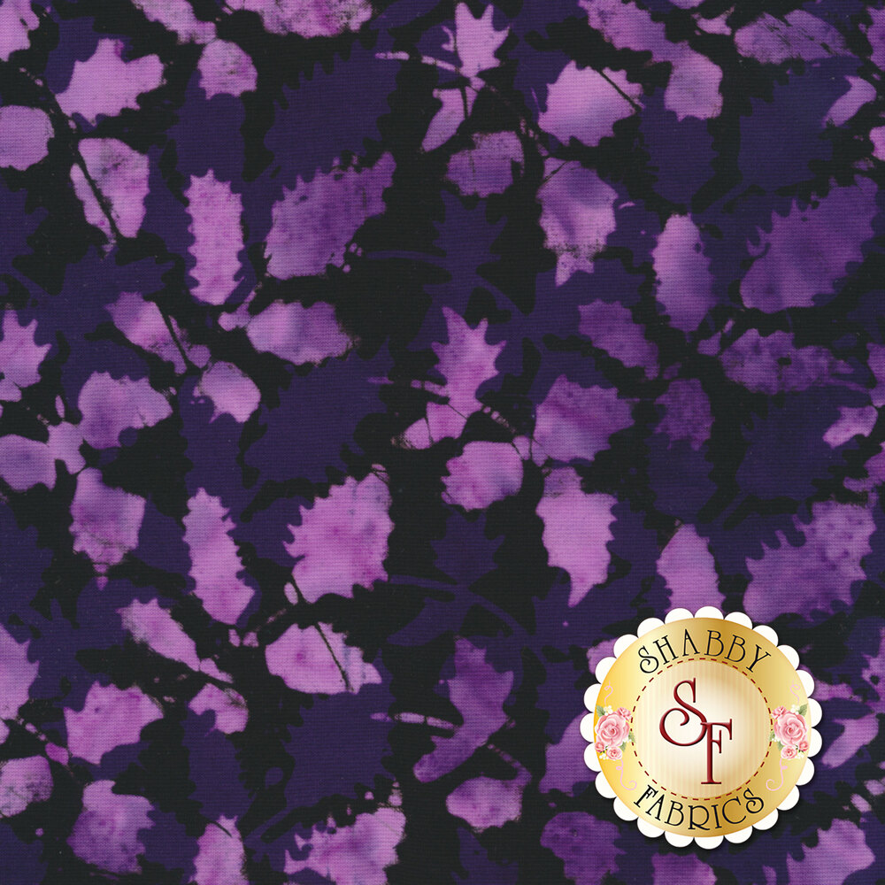 Floragraphix Batiks 4 2-GBD-3 Grape by In The Beginning Fabrics available at Shabby Fabrics