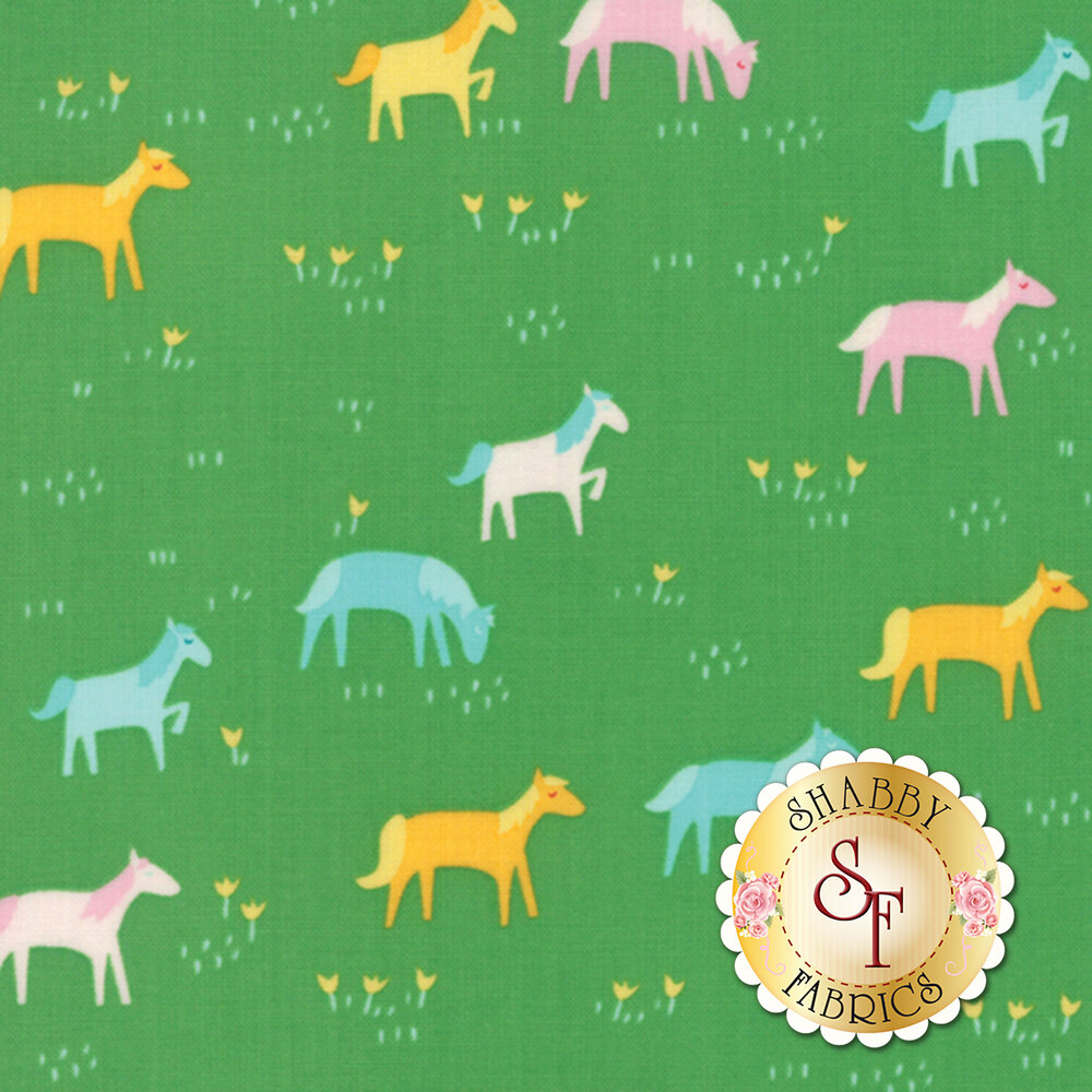 Best Friends Forever 20623-17 Green by Stacy Iest Hsu for Moda Fabrics
