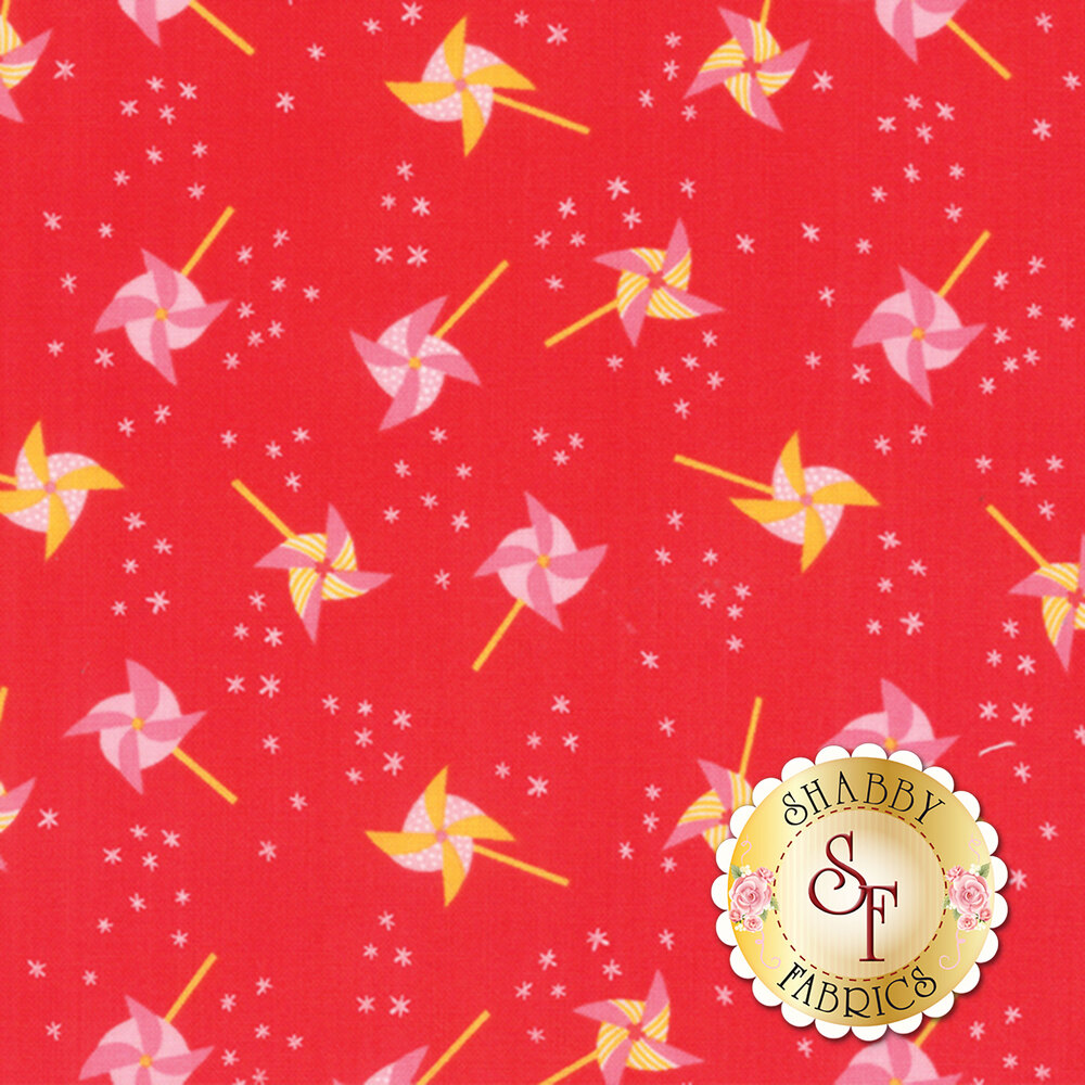 Best Friends Forever 20625-14 Red by Stacy Iest Hsu for Moda Fabrics