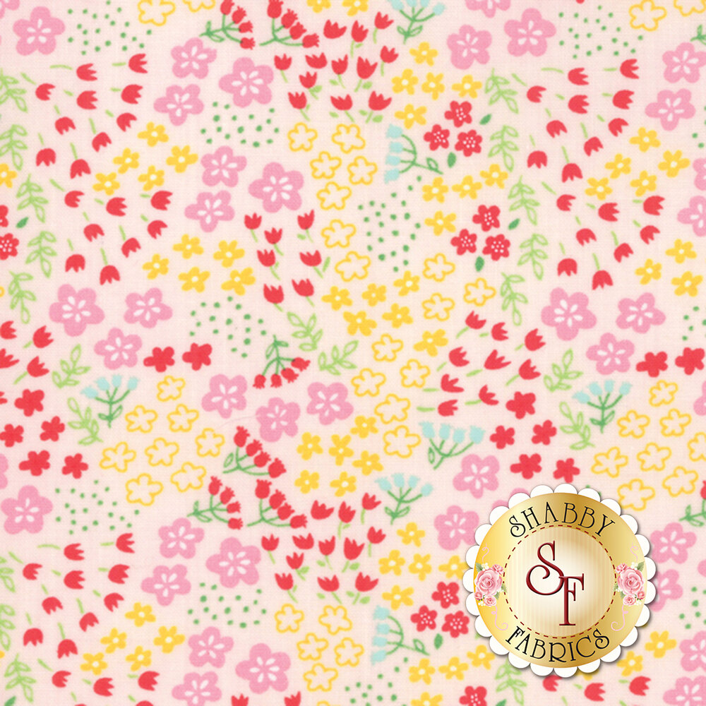 Best Friends Forever 20626-11 Light Pink by Stacy Iest Hsu for Moda Fabrics