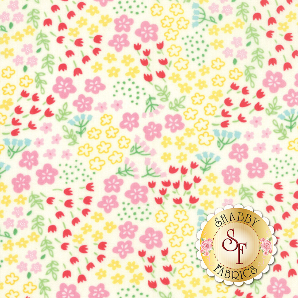 Best Friends Forever 20626-22 White by Stacy Iest Hsu for Moda Fabrics