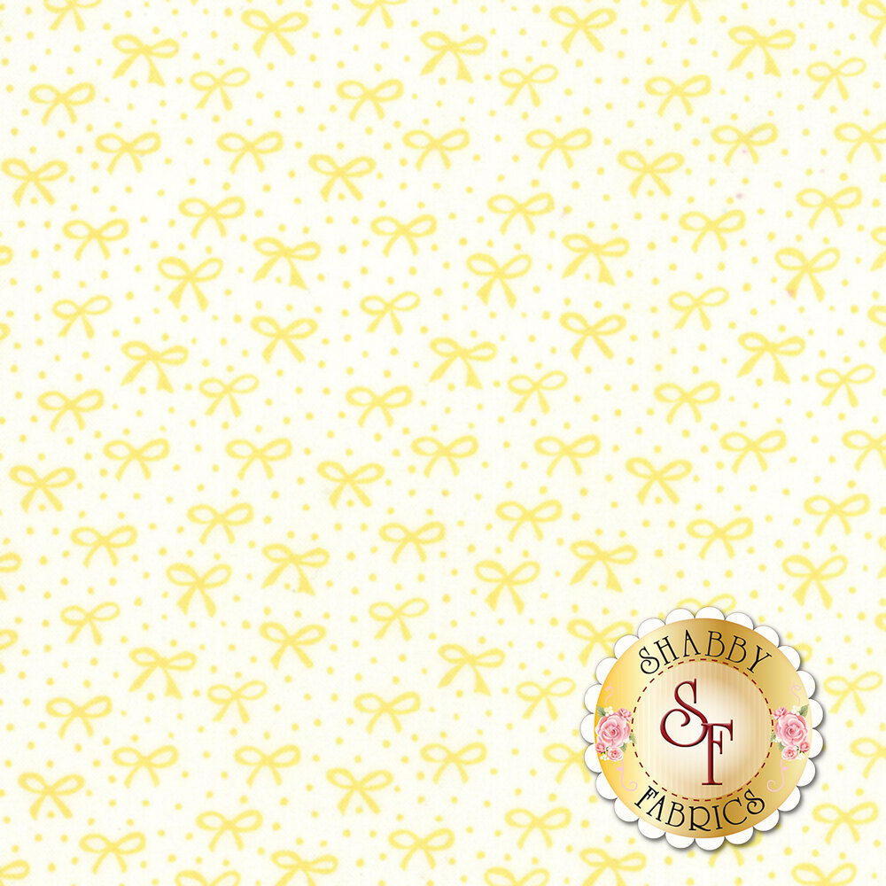 Best Friends Forever 20627-23 White Yellow by Stacy Iest Hsu for Moda Fabrics