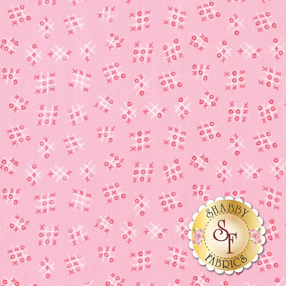 Best Friends Forever  20628-12 Pink by Stacy Iest Hsu for Moda Fabrics