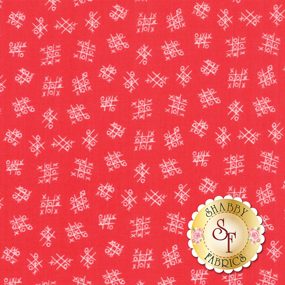Best Friends Forever 20628-14 Red by Stacy Iest Hsu for Moda Fabrics