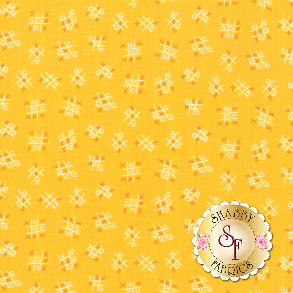 Best Friends Forever  20628-16 Yellow by Stacy Iest Hsu for Moda Fabrics