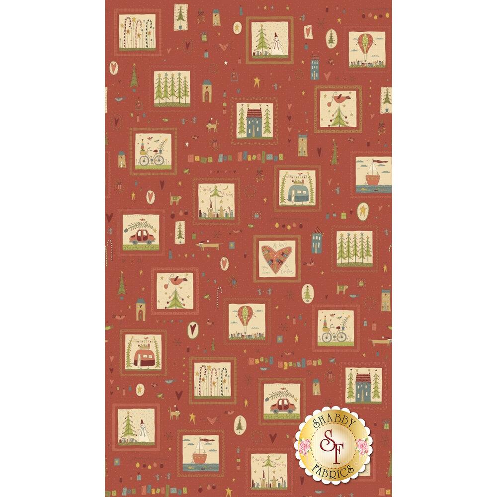 Home For Christmas 2070-88 for Henry Glass Fabrics