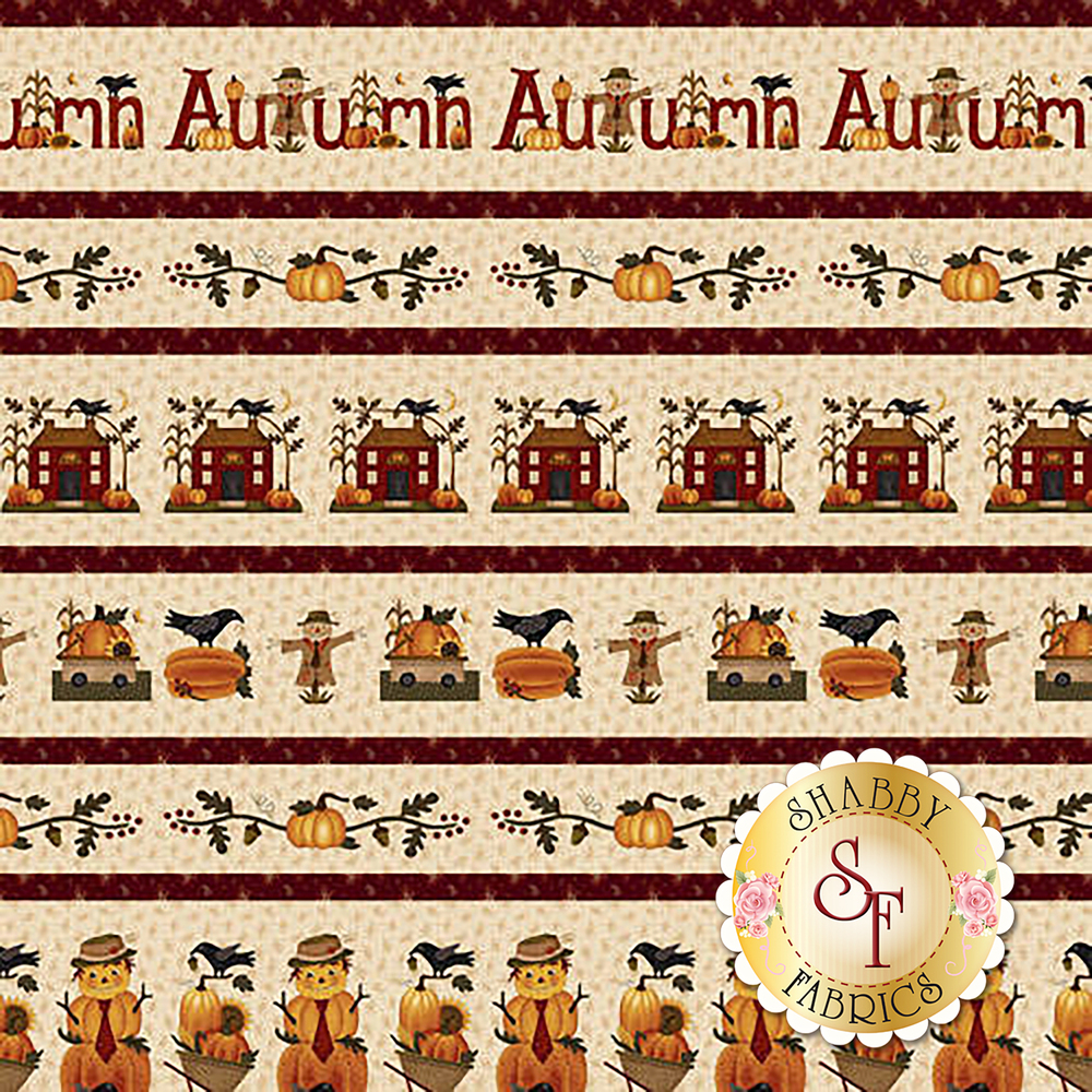 Buttermilk Autumn 2272-34 by Henry Glass available at Shabby Fabrics