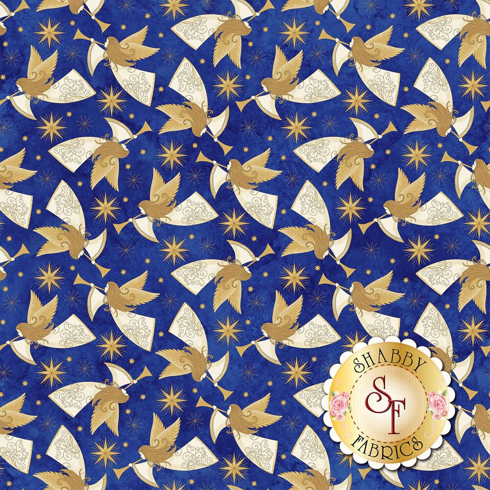 Stonehenge Angels Above 22891M-49 by Henry Glass Fabrics available at Shabby Fabrics
