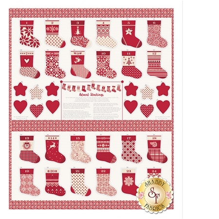 Merry Merry 27270-13 Ribbon Panel by Kate Spain for Moda Fabrics