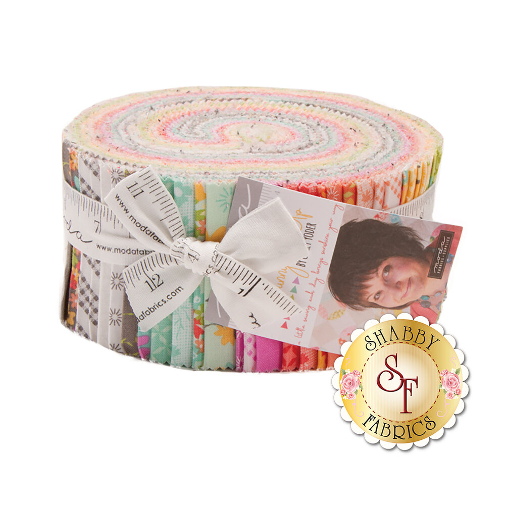 Sunnyside Up  Jelly Roll by Corey Yoder for Moda Fabrics