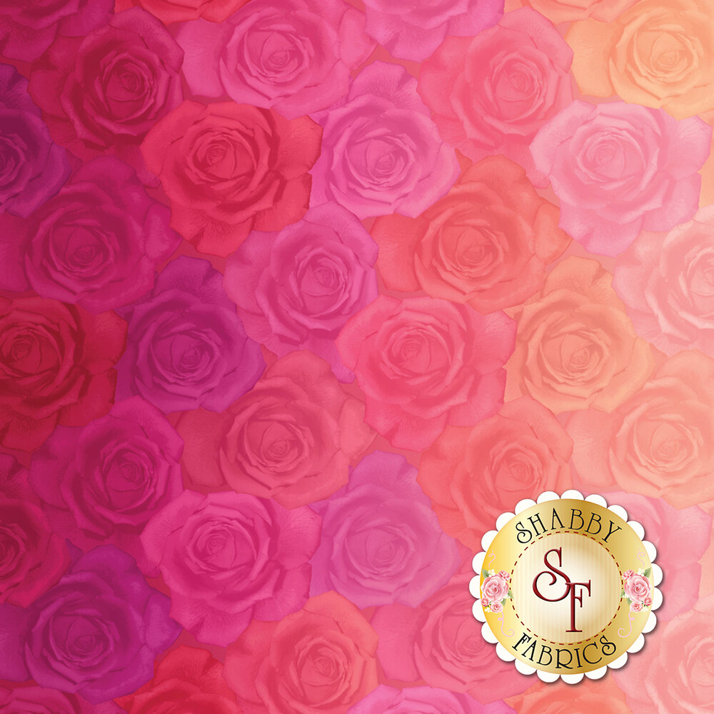 Gradients 33364-11D Roses Pink for Moda