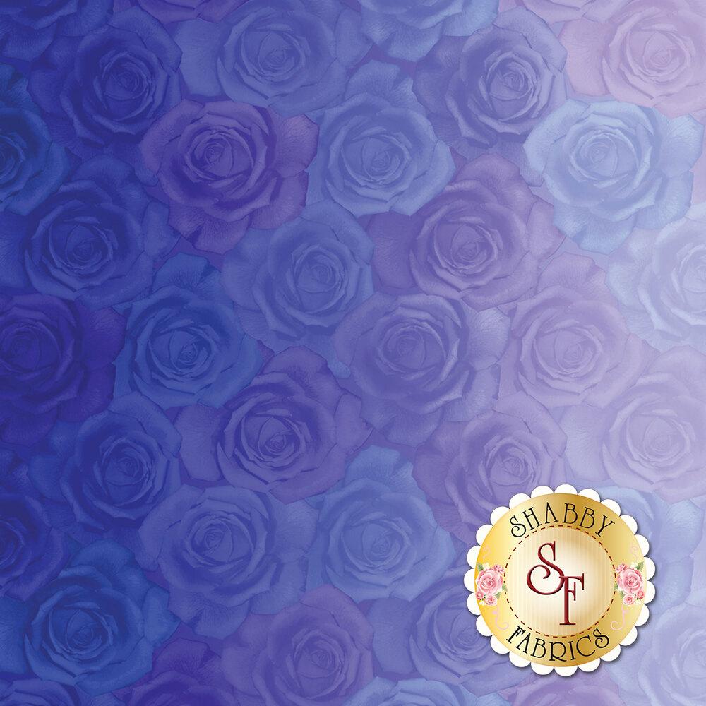 Gradients 33364-12D Roses Light Blue for Moda