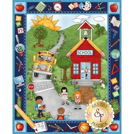 School Zone 4130P-77 by Studio E Fabrics