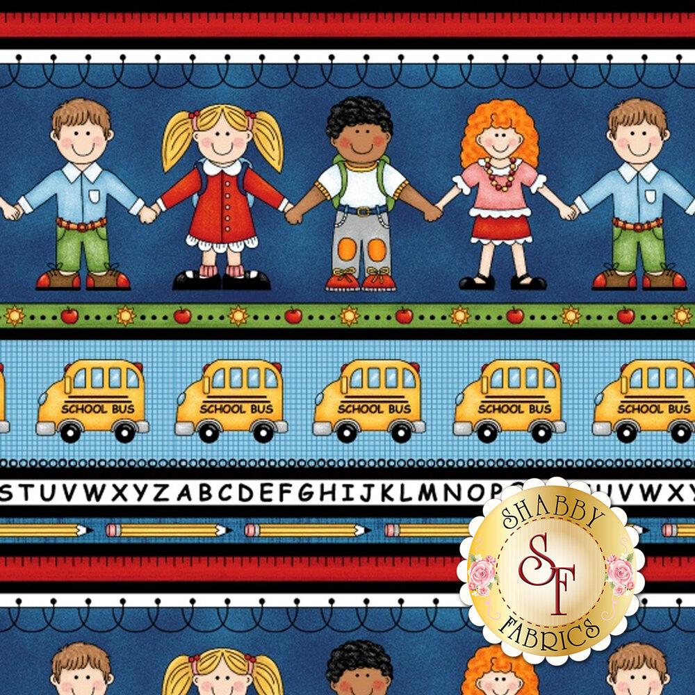 School Zone 4132-77 by Studio E Fabrics
