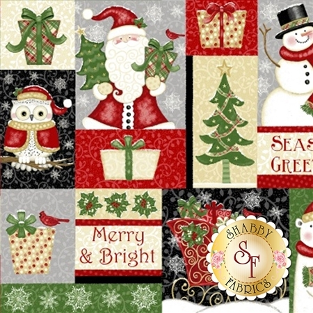 Winter Greetings 4212-89 by Studio E Fabrics
