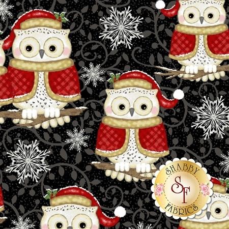 Winter Greetings 4216-99 by Studio E Fabrics