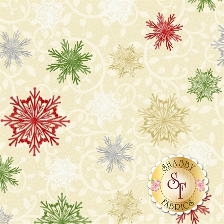 Winter Greetings 4218-44 by Studio E Fabrics