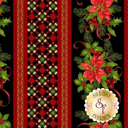 Christmas Village 4249M-99 for Studio E Fabrics