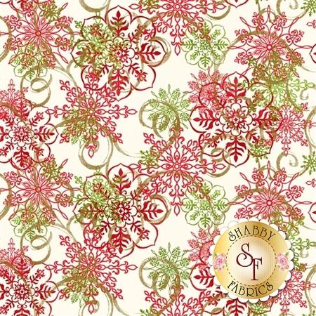Christmas Village 4252M-44 by Studio E Fabrics