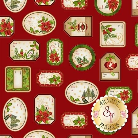 Christmas Village 4255M-88 by Studio E Fabrics
