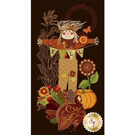 Fall Festival 4259P-38 Scarecrow Panel by Studio E Fabrics