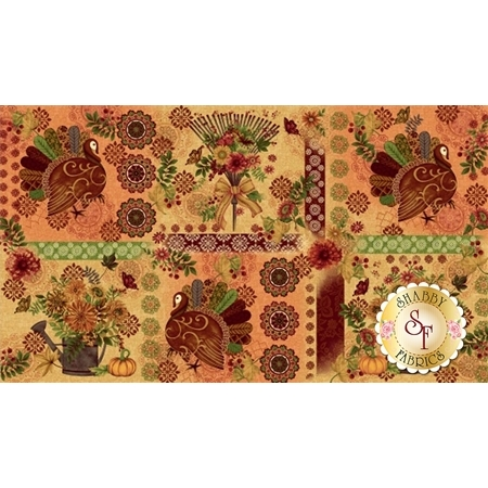 Fall Festival 4260-44 Panel by Studio E Fabrics
