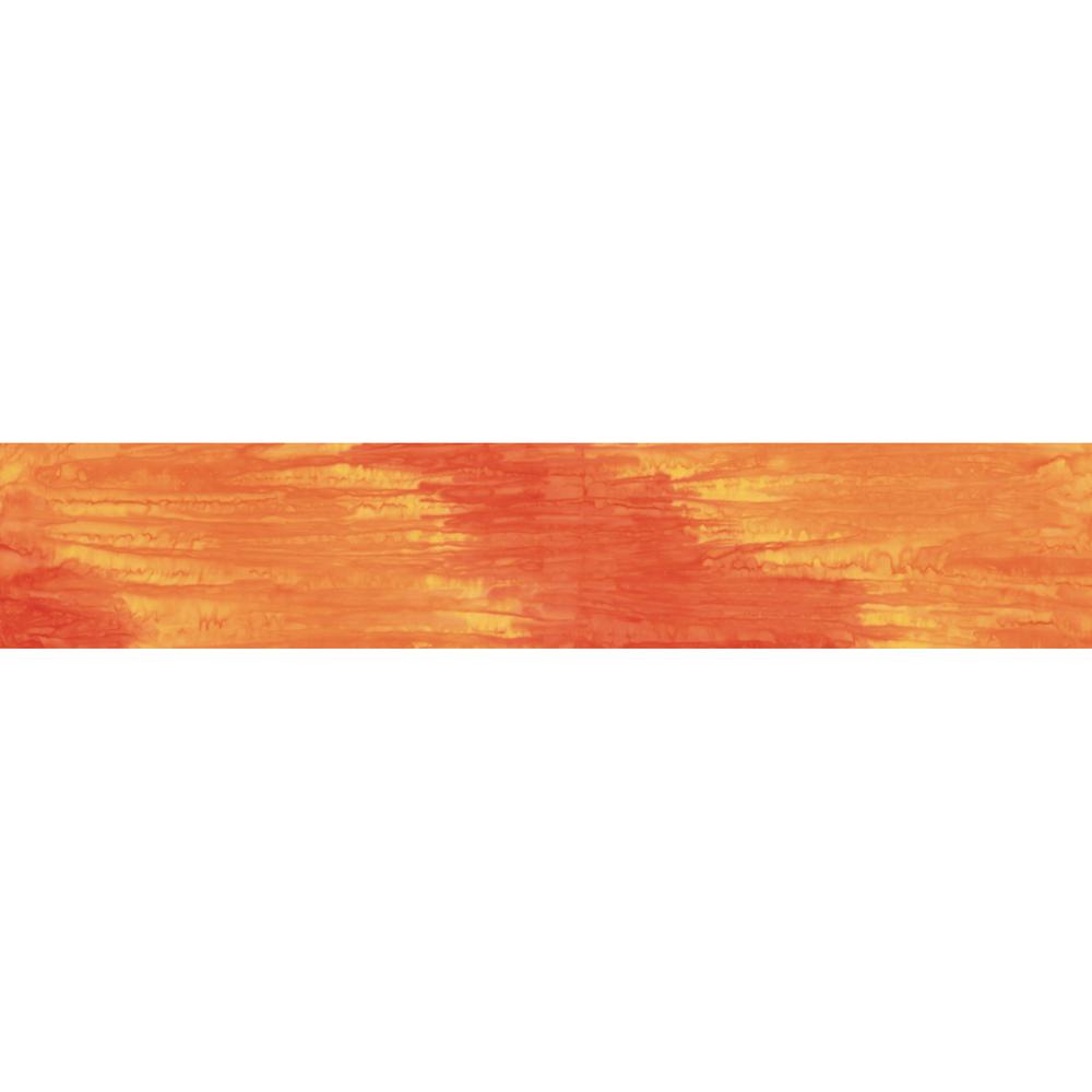 Tonal orange ombre batik | Shabby Fabrics