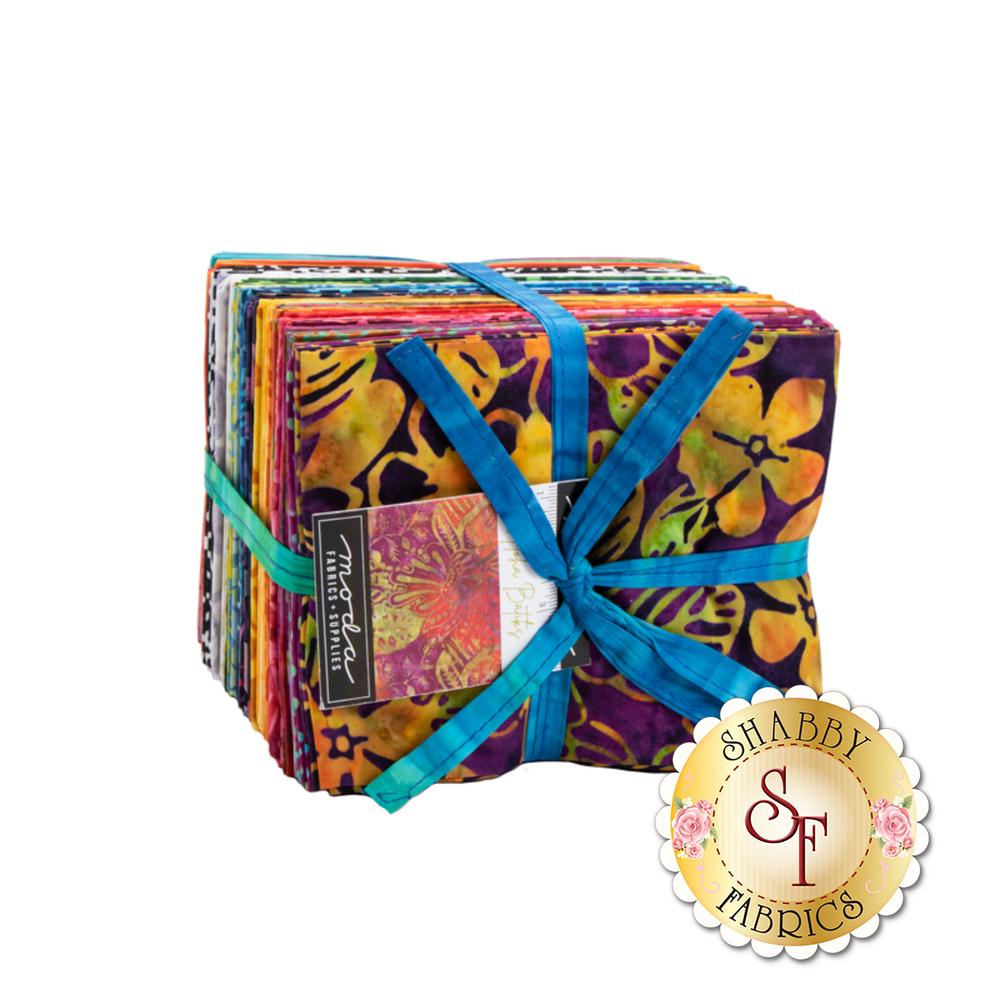 The full 40 FQ bundle for Aloha Batiks from Moda Fabrics | Shabby Fabrics