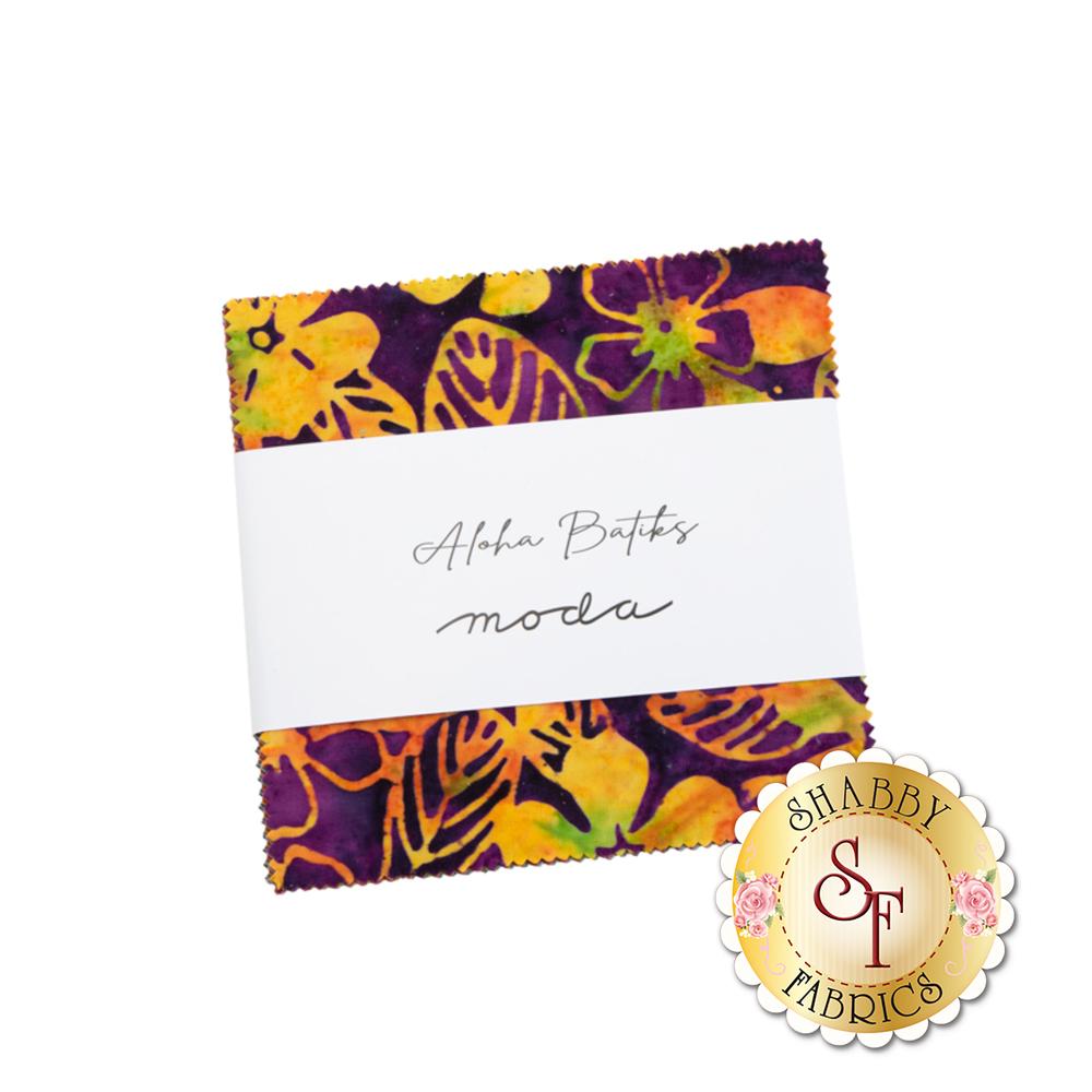 The Aloha Batiks Charm Pack from Moda Fabrics | Shabby Fabrics