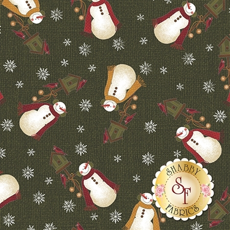 Winter Wonderland 4651-45 by Cheryl Haynes for Benartex Fabrics