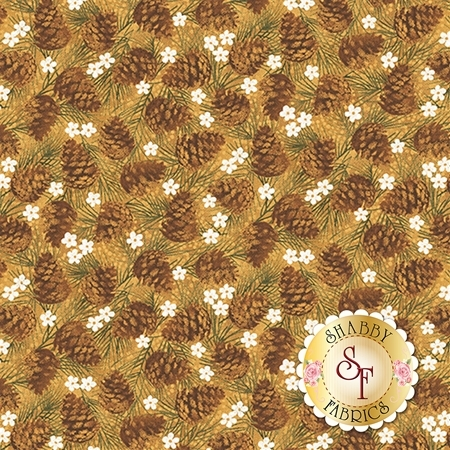 Winter Wonderland 4653-33 by Cheryl Haynes for Benartex Fabrics