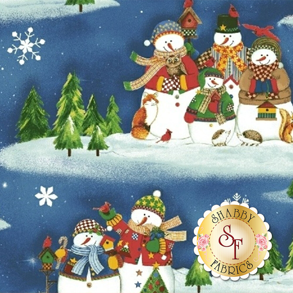 Winter Wishes 50256-1 by Windham Fabrics