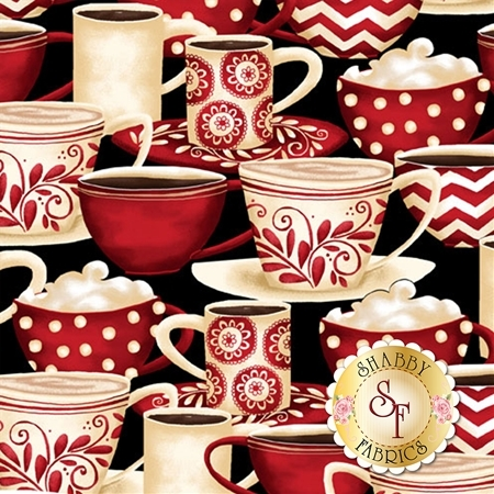 Morning Coffee 56054-931 by Wilmington Prints