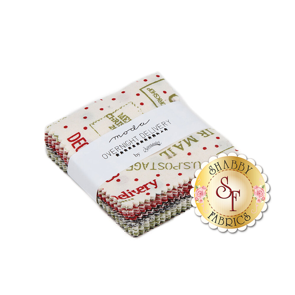 Overnight Delivery  Mini Charm Pack by Moda Fabrics