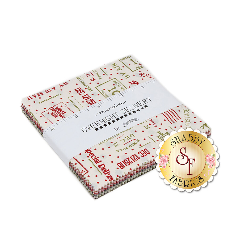 Overnight Delivery  Charm Pack by Moda Fabrics