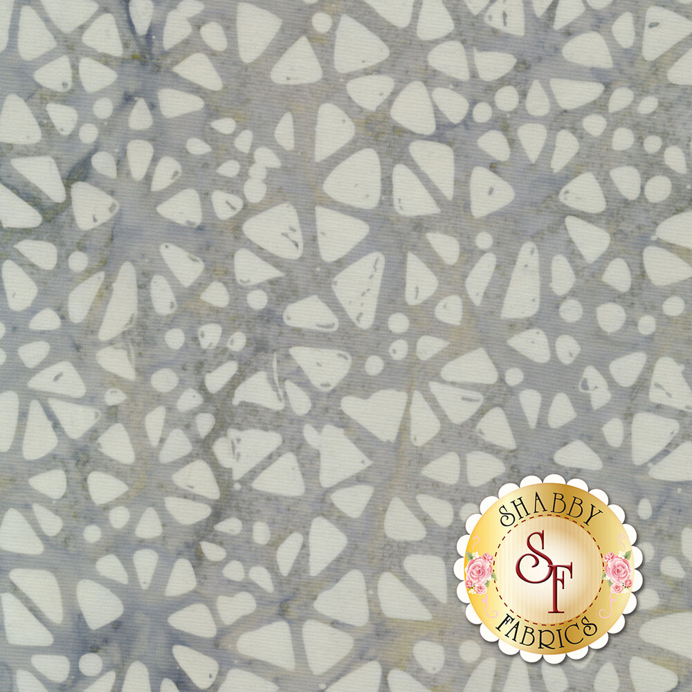 Floragraphix Batiks 4 7-GBD-6 Gray by In The Beginning Fabrics available at Shabby Fabrics