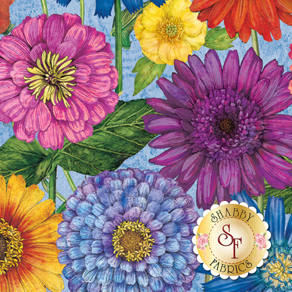 Blossom & Bloom 74201-456 by Wilmington Prints